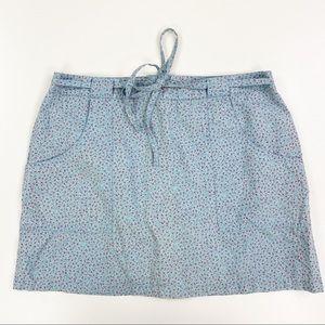 Vintage 90s American Eagle Skirt Floral Mini EUC